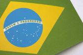 Bandeira do brasil — Fotografia Stock