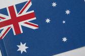 Flag of Austrailia — Stock Photo