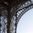 Close up of the Base of Eiffel Tower - 