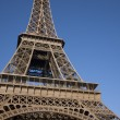 Royalty-Free Stock Photo: Close up of the Eiffel Tower