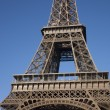Eiffel Tower in Paris - Stockfoto