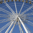 Close up of the Ferris Wheel, Paris - Foto de Stock  