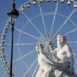 Tuileries Garden in Paris - Lizenzfreies Foto