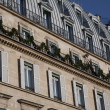 Parisian Facade - Lizenzfreies Foto