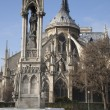 Notre Dame Cathedral, Paris - Stockfoto