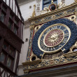 Medieval Clock, Rouen — Stock Photo