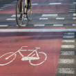 Cycle Path, Barcelona - Stock Photo