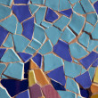 Colorful Blue and Yellow Mosaic - Stock Photo