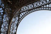 Structure of the Eiffel Tower — Stock Photo