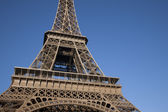 Close up of the Eiffel Tower — Stock Photo