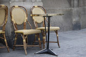 Two Cafe Chairs — Stock Photo