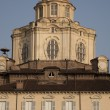 St Lorenzo Church on the Castello Square, Turin — Stok fotoğraf