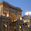 Vittorio Emanuele II Shopping Gallery in Milan, Italy — Stockfoto
