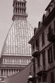 Mole Antonelliana Building in Turin — Stock Photo