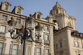 Castello Square, Turin — Stock Photo