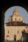 St lorenzo kyrkan, turin — Stockfoto