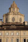 St Lorenzo Church on the Castello Square, Turin — Stockfoto