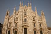 Duomo Cathedral Church in Milan — Stock Photo