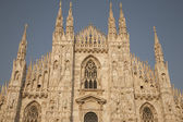 Duomo kathedraal kerk in milaan — Stockfoto