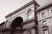 Vittorio Emanuele II Shopping Gallery in Milan, Italy — Stock Photo