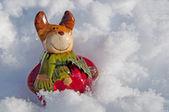 Weihnachts Elch — Stock Photo