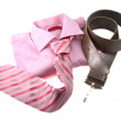 Pink clothing — Stock Photo
