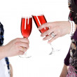 Stock Photo: Toasting