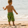 Playing at the beach — Stock Photo #4139999