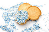 A few biscuits — Stock Photo
