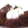 Royalty-Free Stock Photo: Christmas decoration with balls