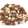 Several nuts — Stock Photo