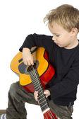 Playing music — Stock Photo