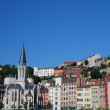 Постер, плакат: Landscape of buildings in Lyon France