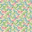Seamless pattern with dragonflies - Imagen vectorial