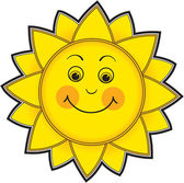 Smiling Sun — Stock Photo