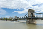 The Chain Bridge, Budapest — Stock Photo