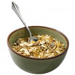 Bowl of muesli — Stock Photo #4000394