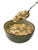 Bowl of muesli — Stock Photo