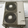 Stock Photo: Climatiseur air conditioner
