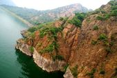 Lake Yansaj. China — Stock Photo
