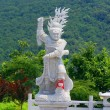 Statue of the god in China, Dalian — Photo