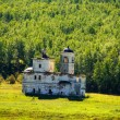 Ruins of old church. Eastern Siberia. Russia — 图库照片