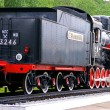 Stock Photo: Steam locomotive, Butterfly