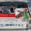 Italy, Naples, Aqua 54' luxury yacht — Stock Photo