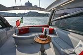 Italy, Naples, Aqua 54' luxury yacht — ストック写真