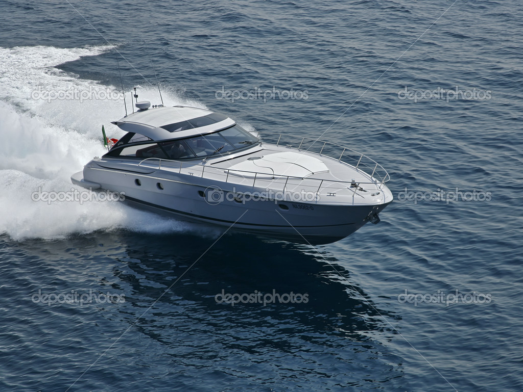 ... off the coast of Naples, Aqua luxury yacht (boatyard: Cantieri di Baia), ...