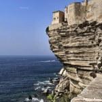 Постер, плакат: France Corsica Bonifacio view of Bonifacio rocky coast