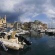 France, Corsica, Bastia, panoramic view of the marina and the city — Stock Photo #4094277