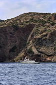 Italien, tirrenian havet, tuscanian öar, ön capraia — Stockfoto