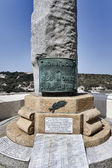 France, Corsica, Bonifacio, 1st world war monument in the town — 图库照片